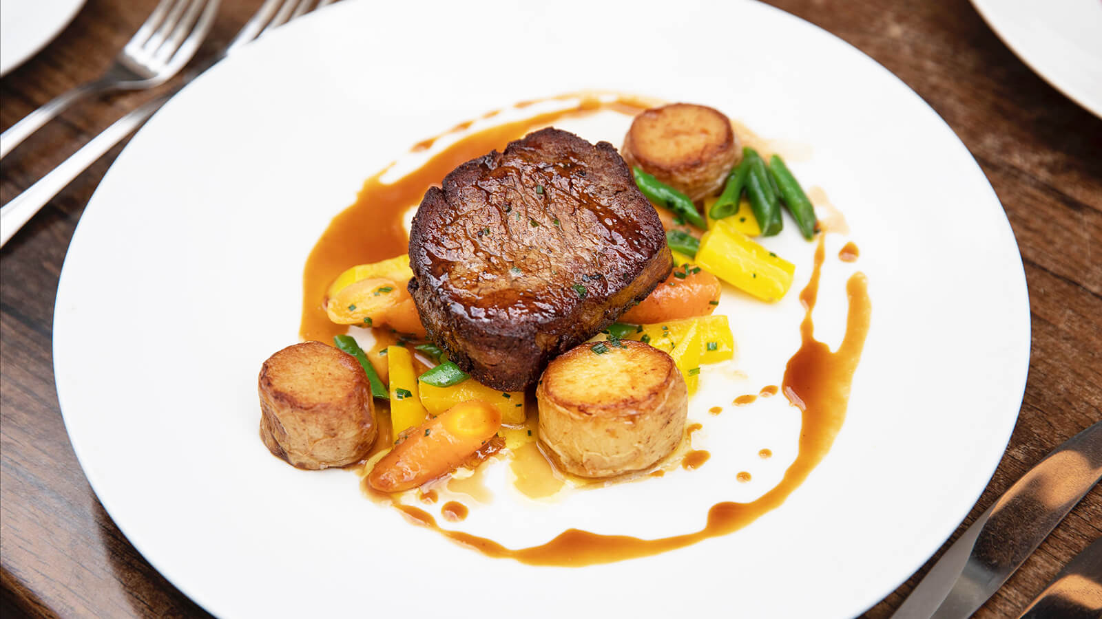 Pan Fried Fillet of Beef