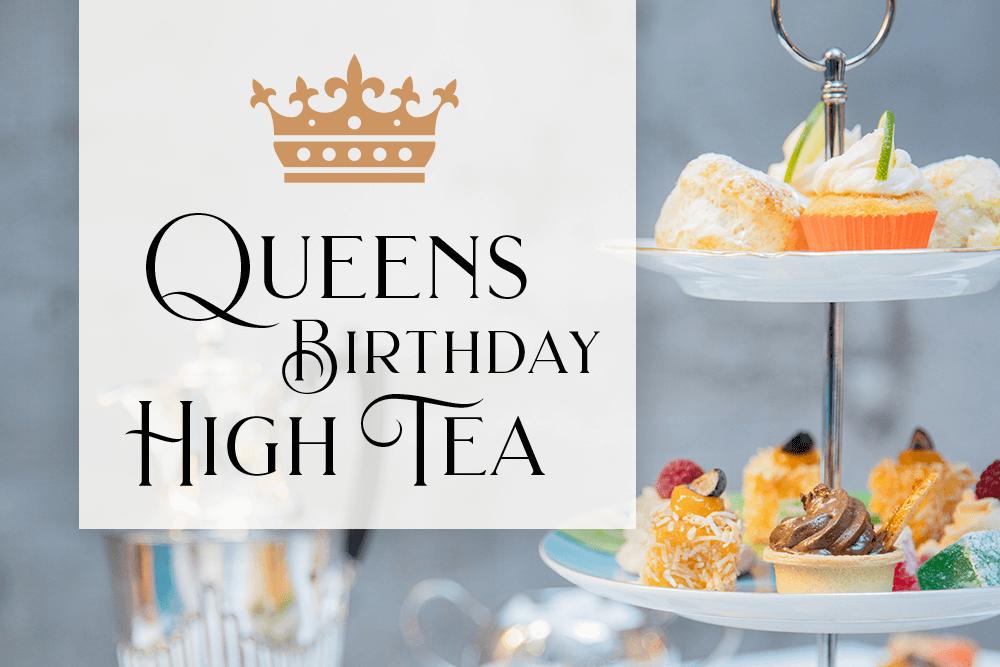 Queens Birthday High Tea