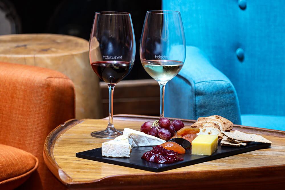 Wine & Cheese Flight